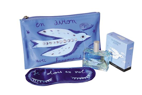 Imagine a Set en avion avec Fragonard 50ml