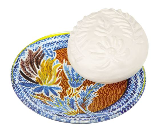 Imagine a Rose Lavande Set sapun-savoniera 150g